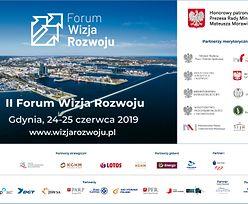 II Forum Wizja Rozwoju: Sto debat w kilkunastu blokach tematycznych.