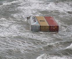 Zgubili na morzu kontenery z telewizorami. Zapewniają, że zapłacą za sprzątanie