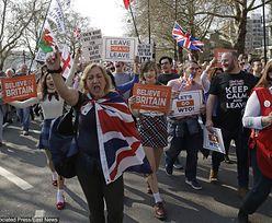 Brexit. Byliśmy wśród protestujących Brytyjczyków. Widok momentami kuriozalny