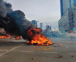 """Protest Agrounii. Policja publikuje wizerunki rolników """"działających z pobudek chuligańskich"""""""