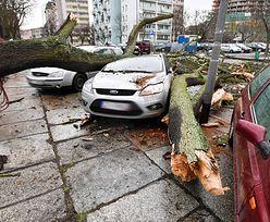Idą burze z silnymi wiatrami i gradem, który może niszczyć samochody.