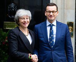 """Brexit bez umowy """"najgorszym z rozwiązań"""". Morawiecki rozmawiał telefonicznie z premier May"""
