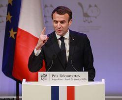 """Emmanuel Macron w Polsce. Rzecznik rządu: """"to nie będzie łatwa wizyta"""""""