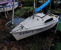 Zalew Sulejowski znika, łodzie na mieliźnie. To efekt suszy