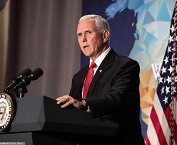 """Wojna handlowa USA-Chiny. Wiceprezydent Mike Pence: """"Nie chcemy odłączyć się od Chin"""""""