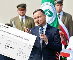 Faktura za wizytę prezydenta. Mieszkaniec Szczecinka oddał pieniądze ministrowi
