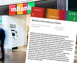 mBank oferuje klientom lepsze warunki. To rekompensata po decyzji UOKiK