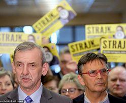 Komitet strajkowy zbiera pieniądze dla nauczycieli. Ma już ponad 400 tys. zł