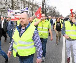 Strajk taksówkarzy. Protestujący zaatakowali taksówkarza, który pracował