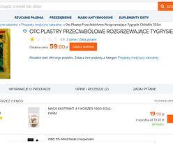 """W polskim internecie można dostać """"plastry tygrysie"""". Mają pochodzić ze """"sproszkowanych kości"""""""