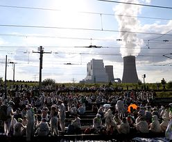 Demonstracje proklimatyczne w Akwizgranie. Blokada odkrywek węgla brunatnego