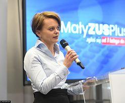 """Jadwiga Emilewicz dla money.pl: Składki na ZUS nie będą zmieniane. """"Dla przedsiębiorców wprowadzamy inne ulgi"""""""