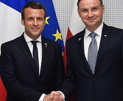 Macron przyjedzie do Polski. Wiele już przegraliśmy z Francją, ale jest szansa na nowe rozdanie