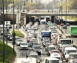 Strajk taksówkarzy. Warszawa sparaliżowana. Utrudnienia w ruchu nawet do godzin wieczornych