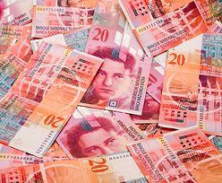 Kursy walut. Frank szwajcarski - kredyty z najwyższym oprocentowaniem od lat