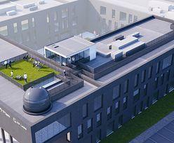 Na dachu biurowca powstanie obserwatorium, które połączy się z satelitą