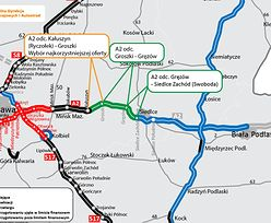 Autostrada A2 na wschód od Warszawy. Znamy wykonawcę