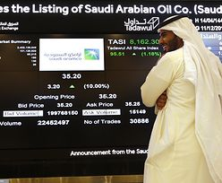 Saudi Aramco bije rekord. Gigant naftowy wart 2 biliony dolarów