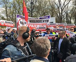 Protest taksówkarzy. Uber też krytykuje projekt ustawy