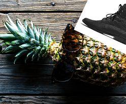 """Buty z ananasa już są, będą ze skórek od jabłek. Polska marka produkuje """"wegańskie obuwie"""""""
