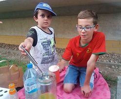 Wakacje dają zarobić dzieciakom. Podwórkowe stoisko z lemoniadą okazało się hitem