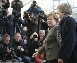 Brexit. Premier May chce przesunięcia daty. Spotkała się z Merkel i Macronem
