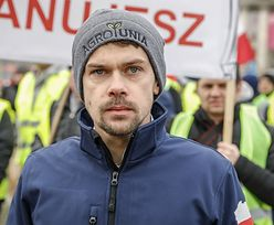 Zarzuty dla lidera Agrounii. Michał Kołodziejczak mówi o próbie zastraszenia