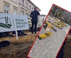 Rolnicy z Agrounii w Warszawie. Nietypowy protest w obronie bazarów i targowisk