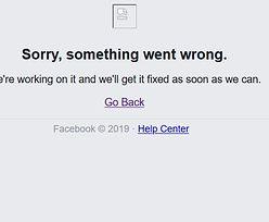 Awaria Facebooka. Nie działa na komputerach i telefonach