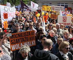 Śmiesznie niskie pensje za czas strajku. Na wsparcie ze zbiórki Polaków muszą jeszcze poczekać
