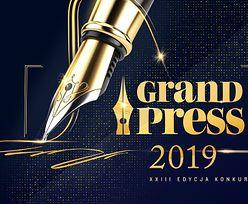 Grand Press. Grzegorz Osiecki z nagrodą specjalną dla dziennikarza ekonomicznego