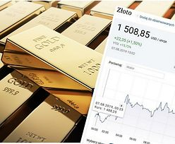 Złoto najdroższe od sześciu lat. Widmo wojny handlowej podbija cenę