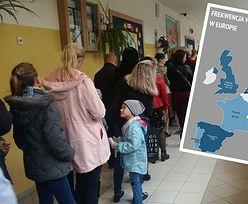 Wybory 2019. Rekordowa frekwencja? Lepiej popatrzcie na Belgię, Danię czy Niemcy