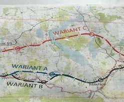 Droga S16. Sejmik poparł kontrowersyjne plany budowy