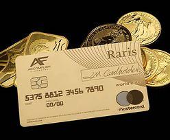 Brytyjska Mennica oferuje kartę płatniczą ze złota
