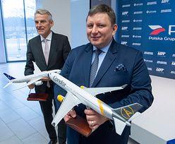 """Zakup Condor Airlines. """"Złotówka z pieniędzy LOT nie zostanie przeznaczona na tę transakcję"""""""