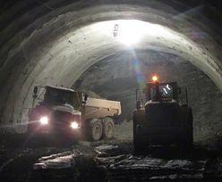 Najdłuższy tunel w Polsce prawie przebity. Zostały 4 metry