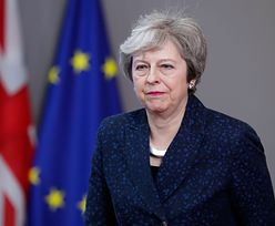 """Theresa May upomniała Tuska za jego język. """"Nie był pomocny"""""""