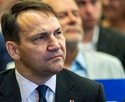 """Wybory prezydenckie bez Donalda Tuska. Sikorski: """"szkoda"""""""