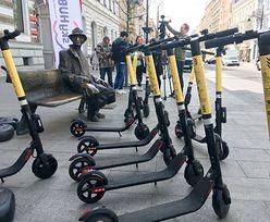 Francja wprowadza zakaz jeżdżenia elektrycznymi hulajnogami po chodnikach