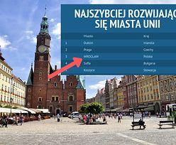 Polskie miasta rozwijają się najszybciej w Europie. Po piętach depczą nam rumuńskie