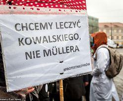 """Protest medyków powraca. """"Rząd nas oszukał"""". W czerwcu wielka manifestacja"""