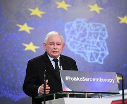 Konwencja PiS. Jarosław Kaczyński ostro o euro. Postawił warunek wprowadzenia wspólnej waluty