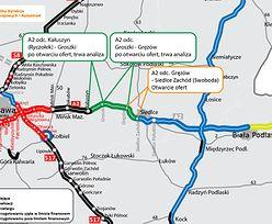 Autostrada A2. Znamy chętnych do budowy odcinka Groszki - Siedlce