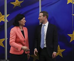 "Komisja Europejska naciska na Facebooka. ""Koniec dżentelmeńskich umów"""