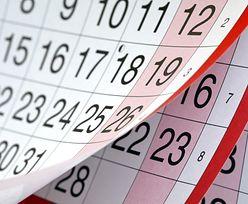 Dni wolne w 2020 - kalendarz