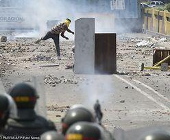 Krwawe protesty w Wenezueli biją w portfele kierowców. Ceny diesla wysokie