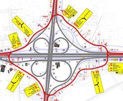 Gigantyczne rondo na A1. GDDKiA zamyka ważny węzeł