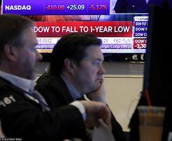 Panika na giełdzie w USA. Handel akcjami wstrzymany