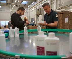 Największy polski producent środków do dezynfekcji ostrzega, że brakuje ważnego składnika